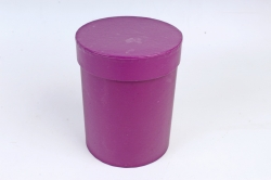 Подарочная коробка одиночная 1шт - Цилиндр винный   В53