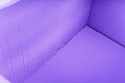 """Подарочная коробка """"Пирожное""""  МДФ,  сиреневый-белыйПУ462-02-0903"""