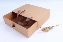 Подарочная коробка -  Прямоугольник Сумка Крафт