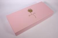 Подарочная коробка - Прямоугольник трансформер розовый 50*23*9см