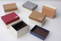 Подарочная коробка текстурн.10х7,5х5,5 см (6шт. в уп) (цена 1шт) цвета в ассортименте