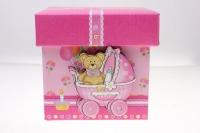 """Подарочная коробка трансформер  """"Детская """"  10,2*10,2*10,2см  (1шт) цвета в ассортименте"""