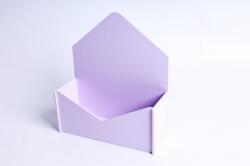 """Подарочная упаковка """"Конверт"""" с глухими стенками малый   сиреневыйПУ302-02-4040"""