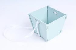 Подарочная упаковка МИНИ МДФ , окрашен., Мурена-белый, 1 шт.ПУ493-02-4403