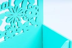 """Подарочная упаковка-конверт """"8 марта""""  МДФ-3мм, 1 шт., тиффаниПУ447-02-2626"""