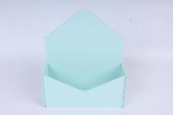 Подарочная упаковка-конверт малый  МДФ 3мм, окрашен., Тиффани пастель, ПУ302-02-4141