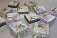 Подарочные коробки - Ассорти Куб 7,5х7,5х6см SY462 (Цена за шт, в упаковке 12)