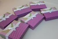 Подарочные коробки - Ассорти Прямоугольник с бантом  14,5х11,5х4см CF-0019-1 (Цена за шт, в упаковке 6)