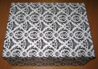 Подарочные Коробки (набор из 10 шт) Прямоугольник 37х29х16 см SY605 - Орнамент