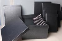 Подарочные коробки - (набор из 10шт)  Прямоуг. Рептилия  37х29х16см SY605-573