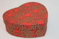 Подарочные коробки - СЕРДЦЕ одиночное (15 см) красное