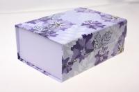 Подарочные коробки - Транс. крышка на магните 18,2х13,3х7,5см (1шт) JY-003AB цвета и рисунки в ассортименте