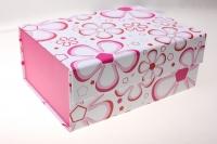 Подарочные коробки - Транс. крышка на магните 23х16,5х9,5см (1шт) JY-002AB цвета и рисунки в ассортименте