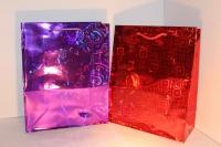 подарочные пакеты голография 22*31  (20 шт /уп)
