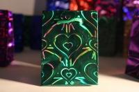 Подарочные пакеты голография  6*8 (20шт / уп)