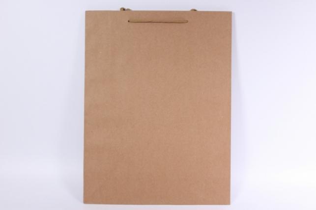 Подарочные пакеты - КРАФТ однотонный 31х42х10 (12 шт/уп)
