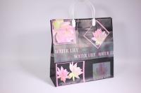 Подарочные пакеты - Сумка мягкий пластик 30*30*10см   №2 (20шт в уп)