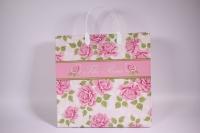 Подарочные пакеты - Сумка мягкий пластик 30*30*10см  ВАМ110  (20шт в уп)