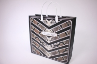 Подарочные пакеты - Сумкамягкийпластик30*30*10смВАМ82(20штвуп)