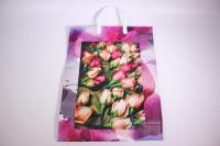 Подарочные пакеты - Сумка мягкий пластик 32*42*10см  BAL40  (20шт в уп)