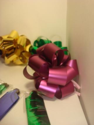 банты праздничные подарочный декоративный праздничный - бант-шар 2см  металл   (10 шт.) набор 1959