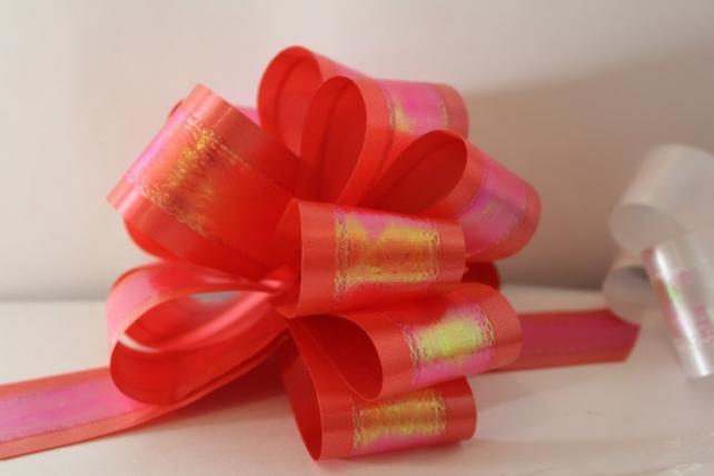 банты праздничные подарочный декоративный праздничный - бант-шар 5см  перламутровый  (10 шт.) 1716