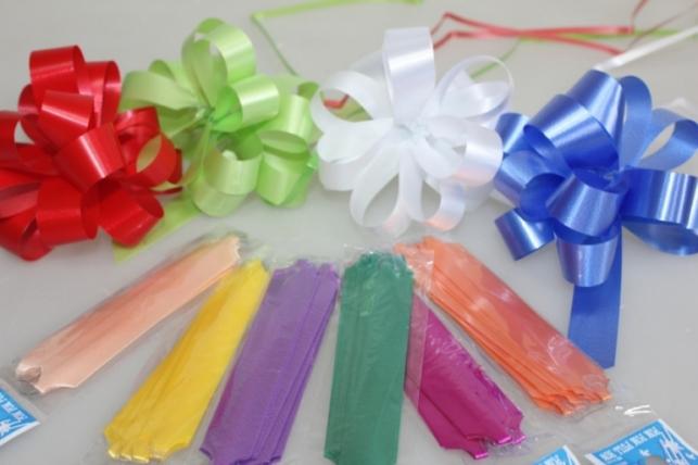 Подарочный Бант из ленты простой 2см (10 шт. в упаковке)