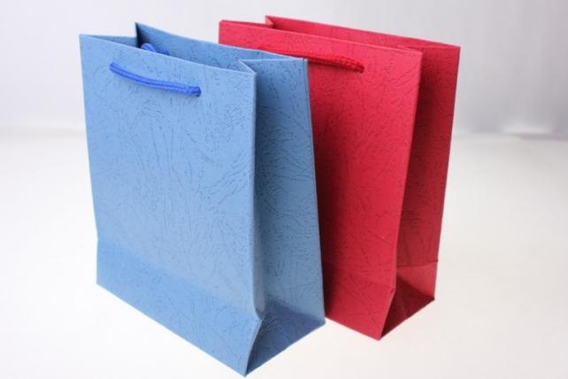 """Подарочный пакет """"Однотонный"""" (23*29*8,5)   (12 шт/уп) цвета в ассортименте"""
