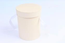 Подорочная коробка одиночная 1шт - Цилиндр шампань  В53