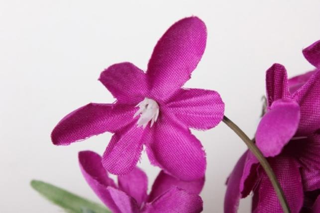 подснежники фиолетовые, букет 30см