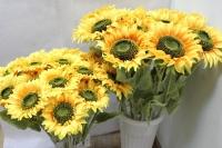 Подсолнух средний   60см - цветы искусственные