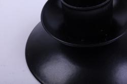 подсвечник ретро черный муар  994004