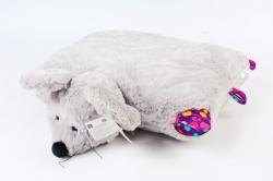 Подушка мышь серая   Д-2182/40