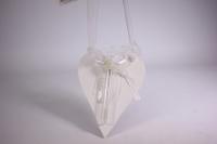 подвеска - сердце с колбой дерево 17*14 dx14-491 9978