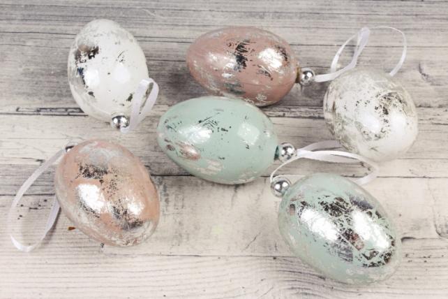 Подвеска яйцо 6 см (6 шт в уп) SHR026