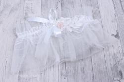 Подвязка невесты  белая 05151