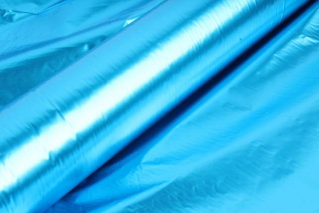 полисилк (1м*20м) в рулоне бирюзовый/бирюзовый
