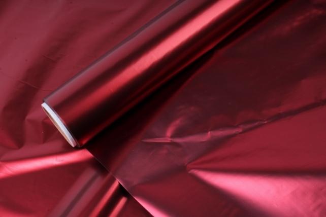 Полисилк (1м*20м) в рулоне Бордовый/Бордовый