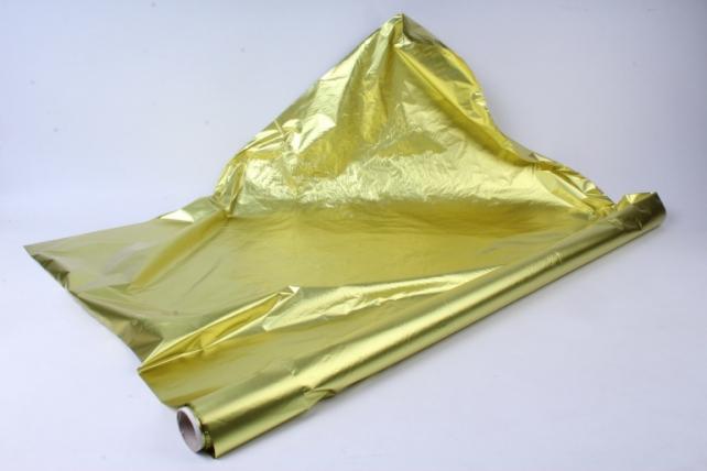 полисилк (1м*20м) в рулоне желтый/желтый