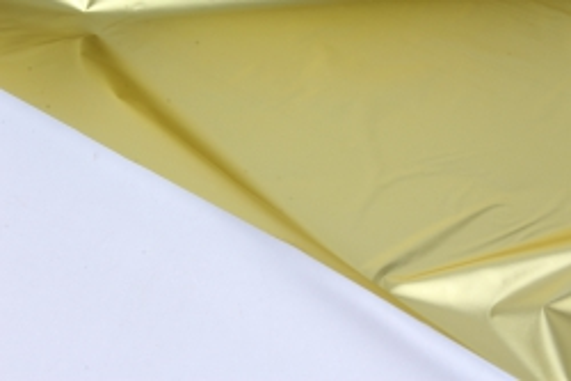 полисилк (1м*20м) в рулоне желтый/серебро