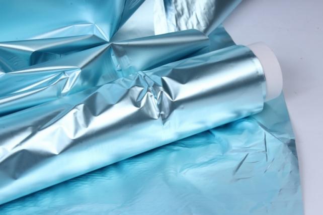 полисилк (1м*20м) в рулоне голубой/голубой