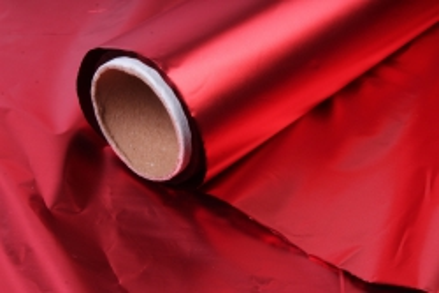 Полисилк (1м*20м) в рулоне Красный/Красный