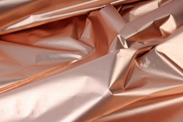 полисилк (1м*20м) в рулоне медный/серебро