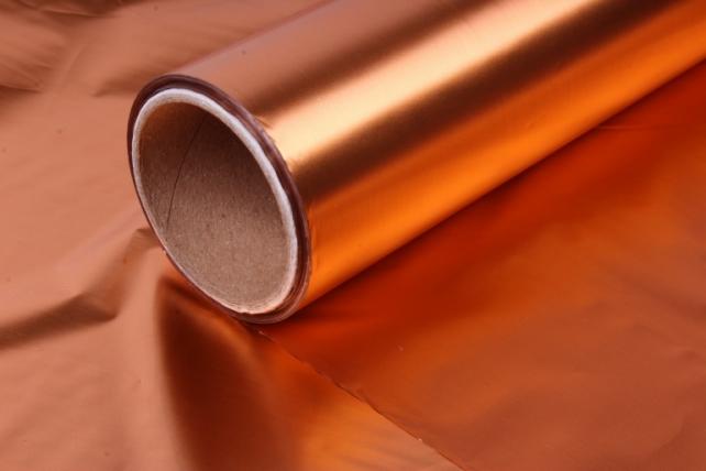 полисилк (1м*20м) в рулоне оранжевый/оранжевый