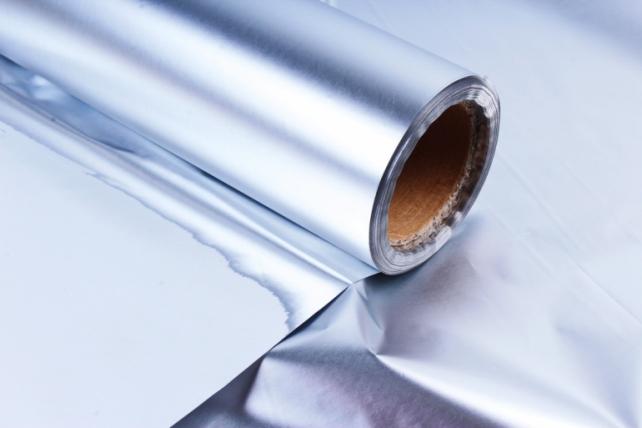 Полисилк металл в рулоне (1м*50м) Серебро Россия КМ50000