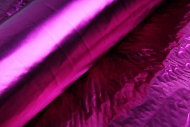 Полисилк металл в рулоне (1м*50м) Сливовый/Сливовый