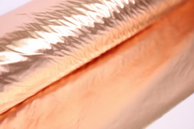 полисилк металл в рулоне (1м*50м) медный-медный