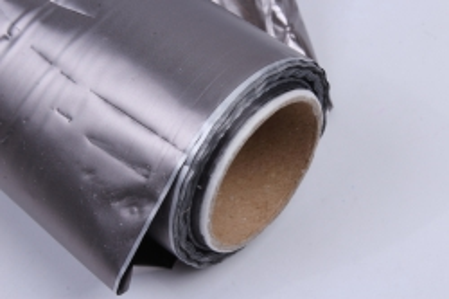 Полисилк металл в рулоне (1м*50м) Серый/Серый