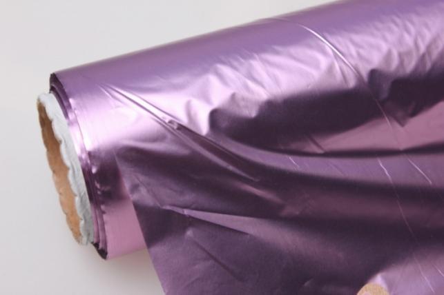 Полисилк металл в рулоне (1м х 50м) - Розовый