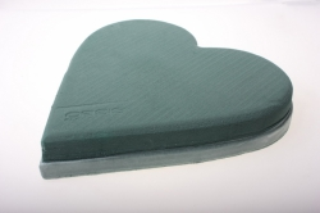 Портбукетница Оазис Сердце 29х30х4,5см для живых цветов (практика)